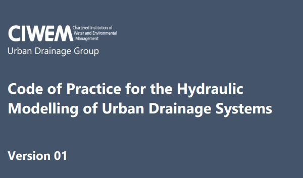 Hydraulic Modelling, Urban Drainage, Code of Practice