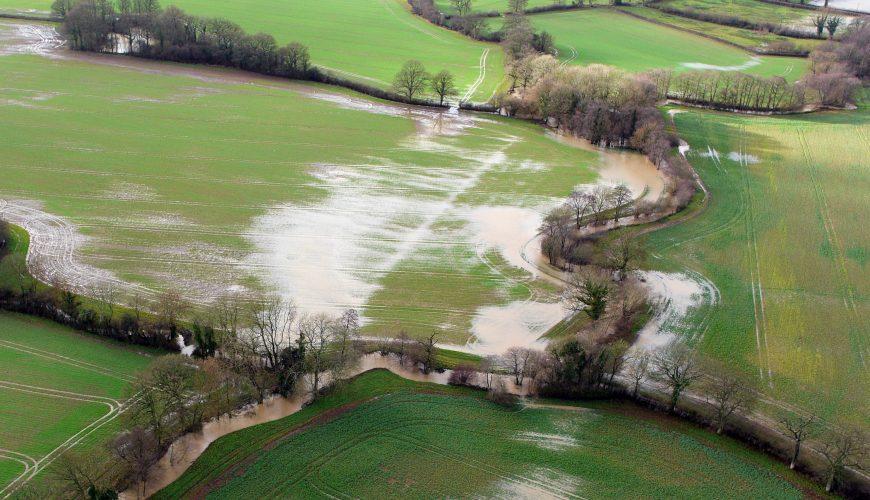 Flooding, Sussex, Fields, Drainage, hydrology, river