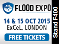 Flood Expo, excel, exhibition, flooding