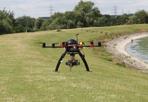 UAVs, flood defence, Remote Sensing,