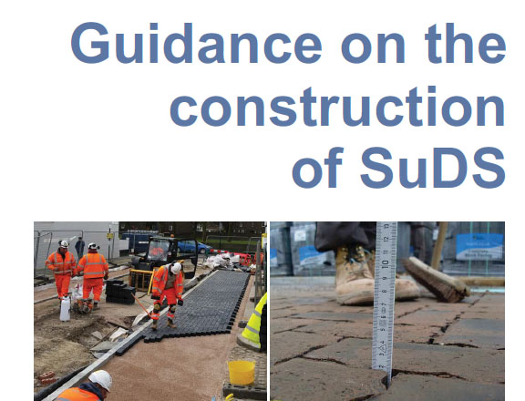 CIRIA, SuDS, Construction